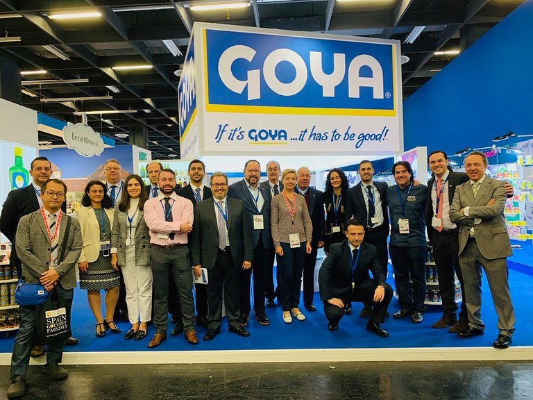 Goya family at Anuga 2019.