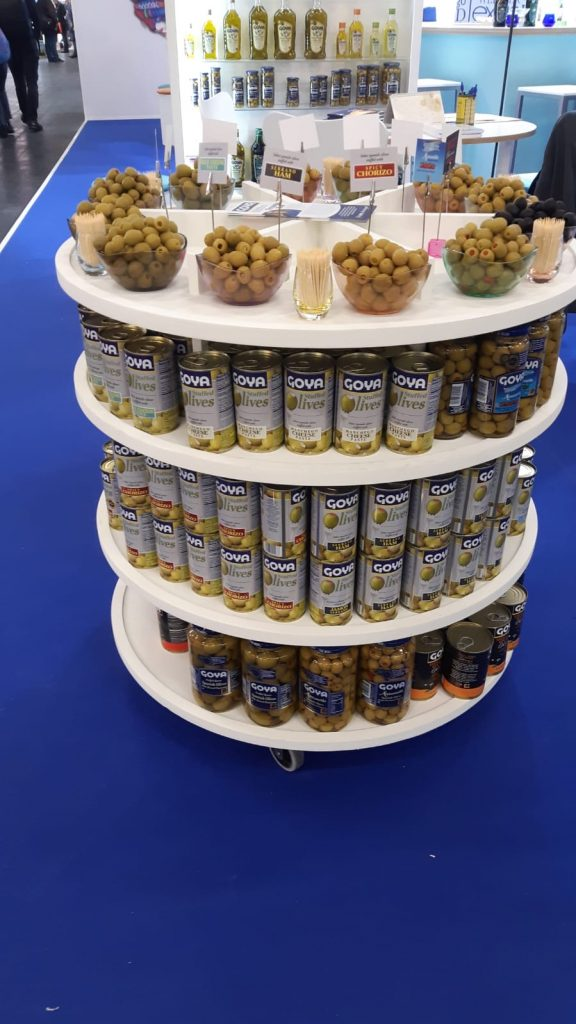 Goya table olives.