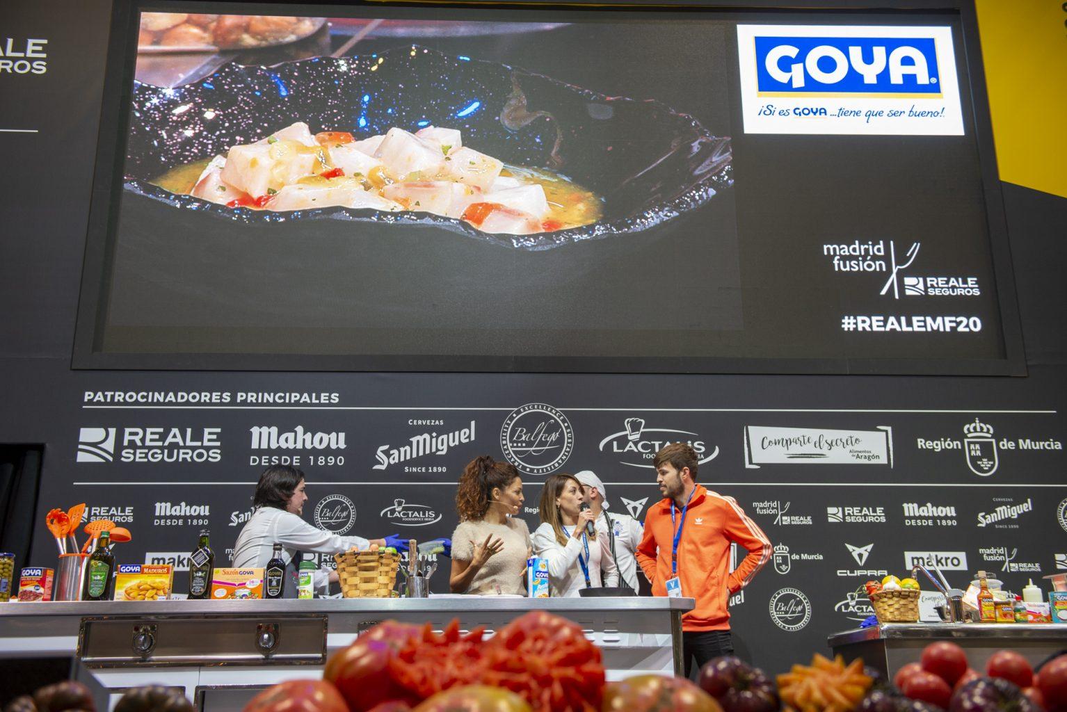 Fernando Desa cooking at Madrid Fusión