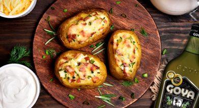 Patatas asadas | Baked potatoes