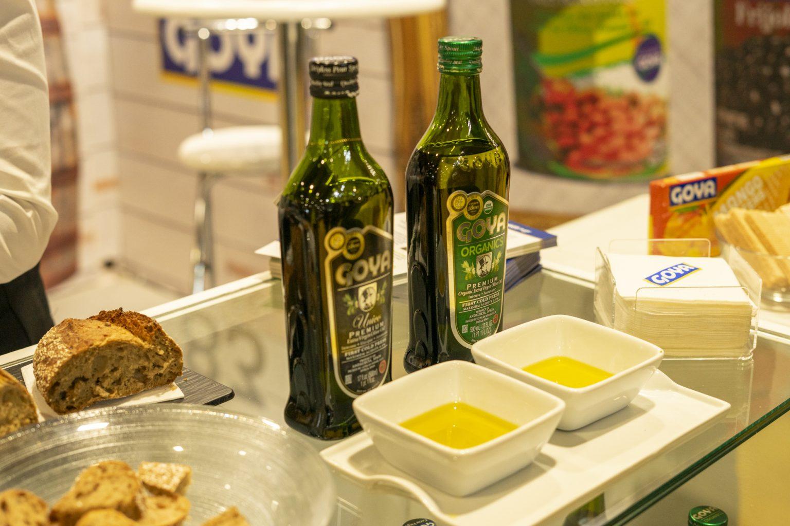 Tasting Goya olive oils