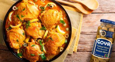 Pollo-estofado-con-aceitunas-