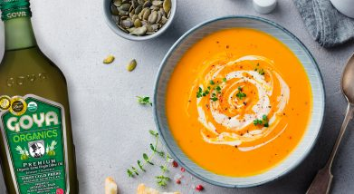 Crema de calabaza - cream of pumpkin