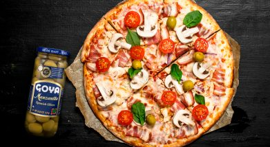 Pizza casera | Homemade pizza