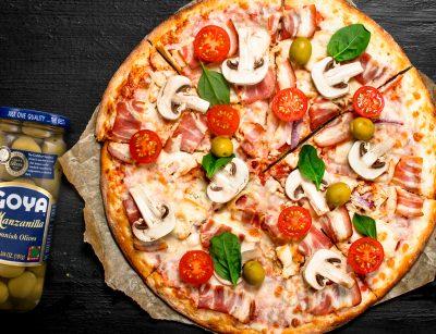 Pizza casera | Homemade pizza