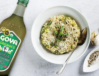 Risotto de espárragos | Asparagus risotto recipe