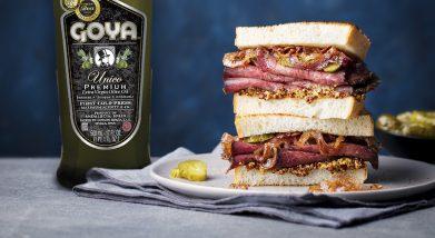 Sandwich Reuben | bocadillo de ternera