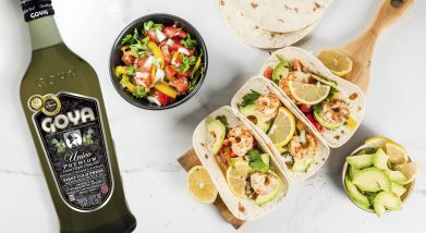 Tacos con gambas | shrimp tacos