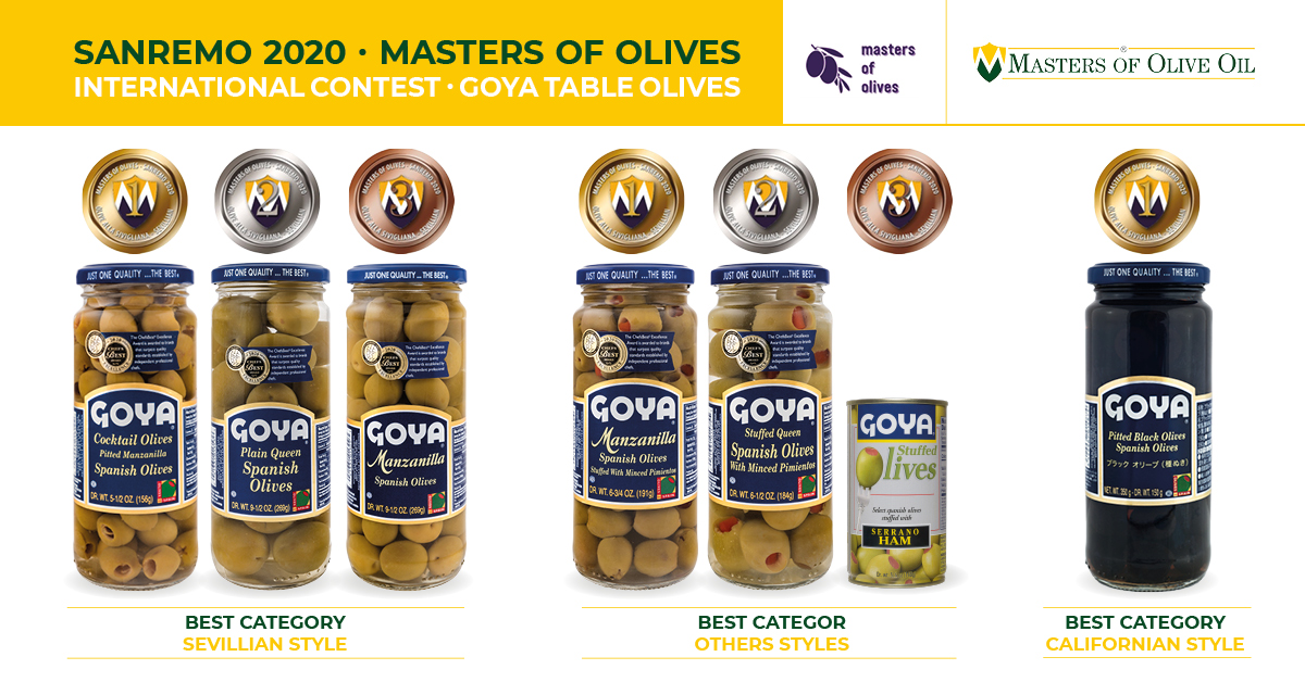 Masters of Olives Sanremo