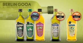 Goya premium olive oils | Aceites premium Goya premiados en Berlin GOOA 2021