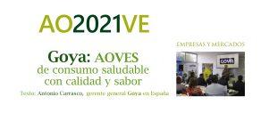 Goya en Anuario del Aceite de Oliva